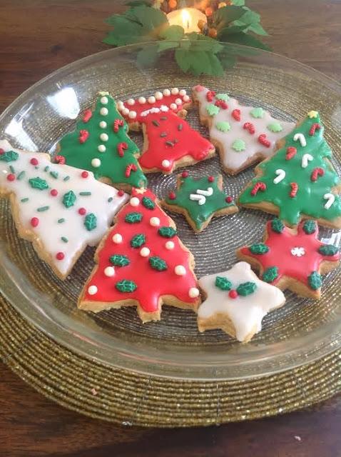 Christmas Cookies Eggless