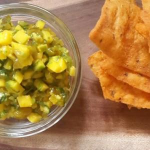 Vibrant mango salsa