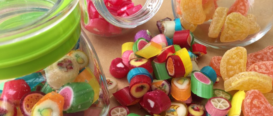 Boiled sweets - an enchanting indulgence !