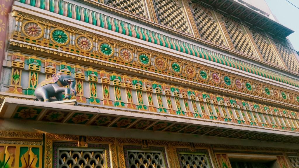 Jain temple facade
