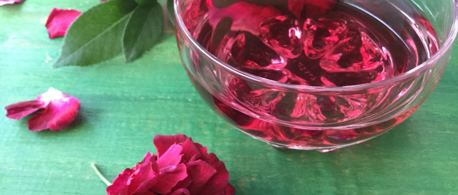 Rose water- home made with love