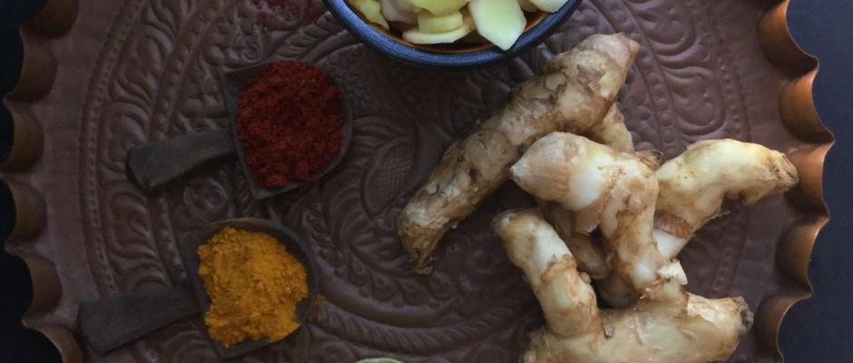 Mango Ginger (Maanga Inji )