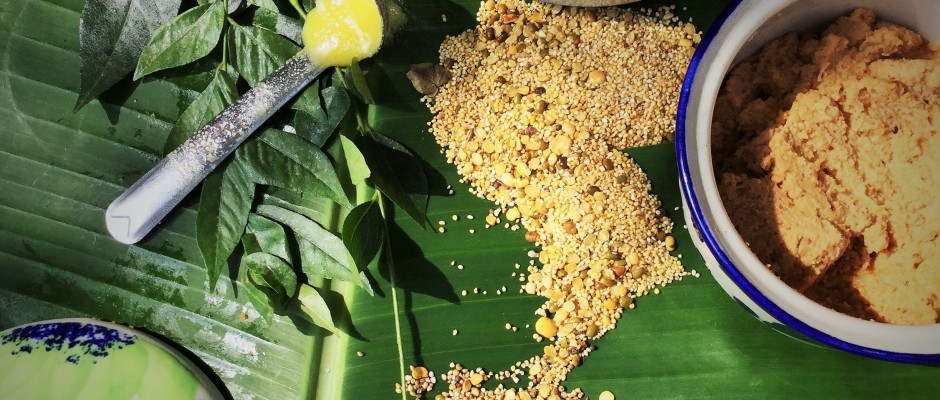 Ven pongal with millets