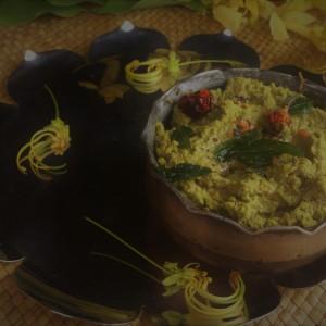 Konnapoo  (Cassia fistula flower) chutney