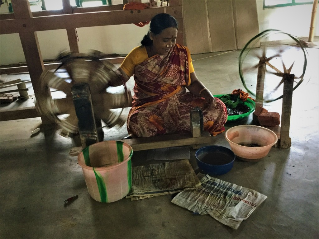 Weaving community at Chettinad