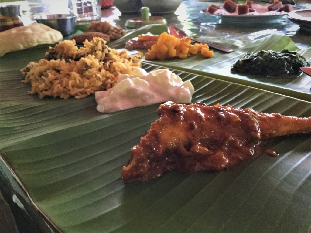 Chettinad feast with non-veg