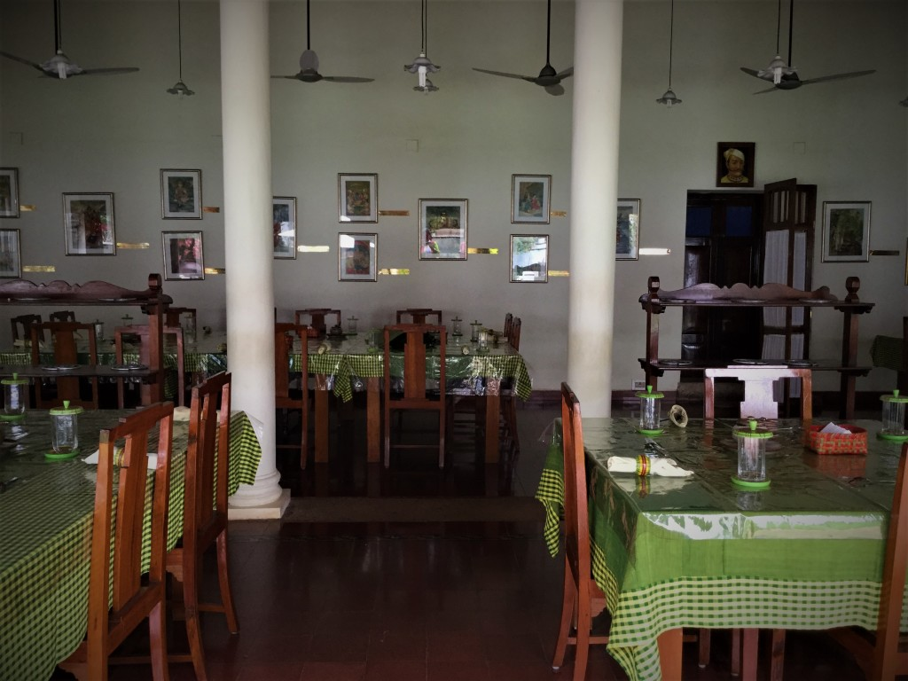 Dining at the Bangala