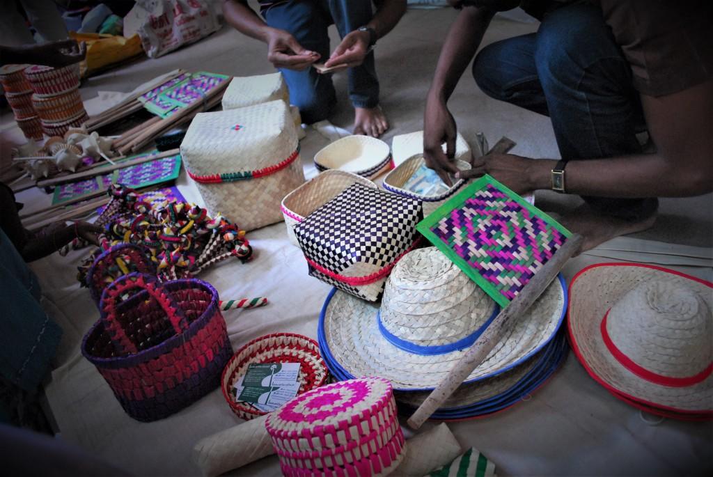 Sandhai natural fibre objects
