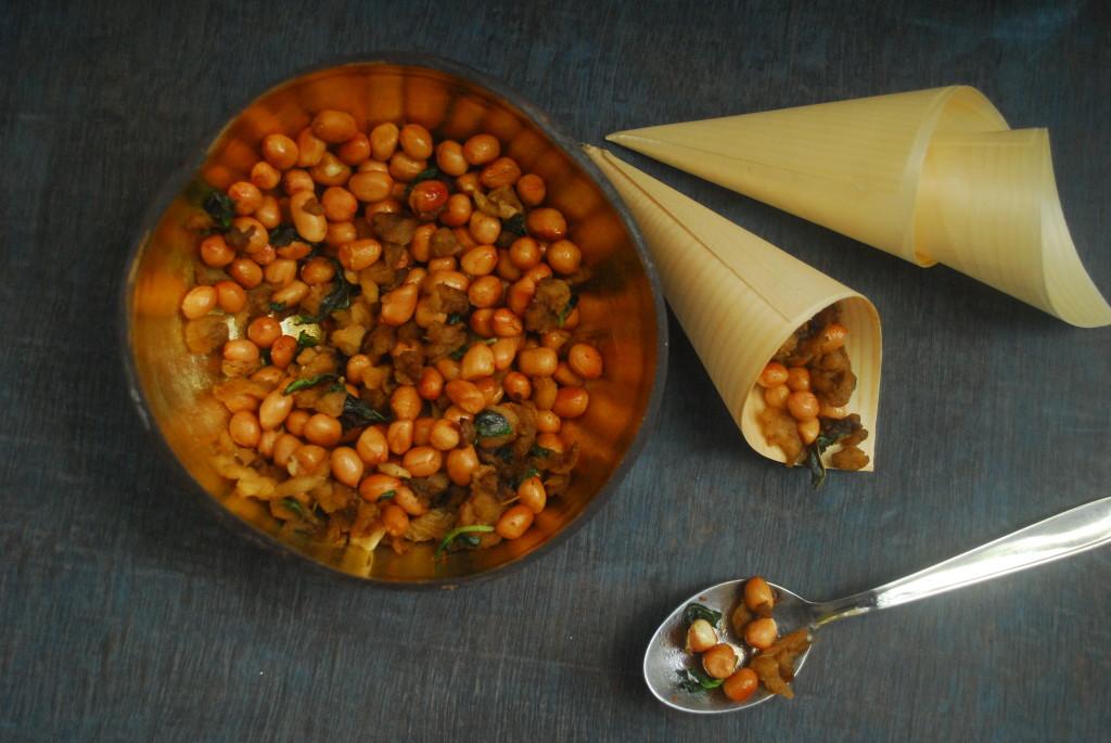 Thaenga poo with peanuts aerial