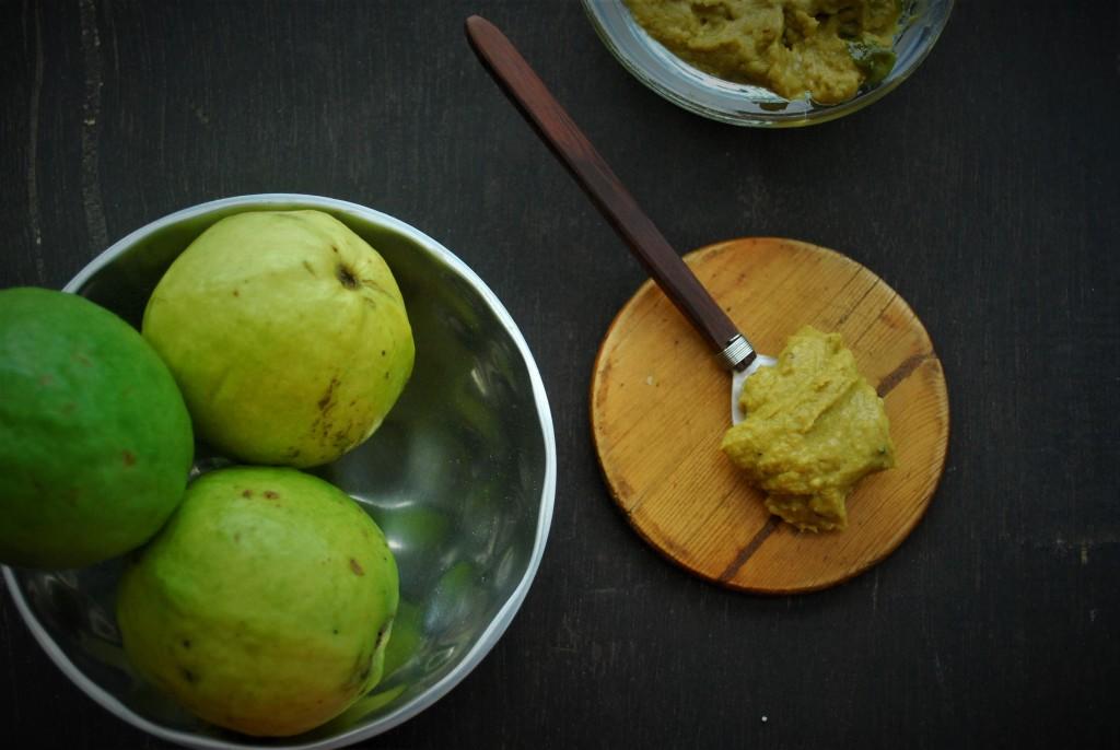 Green guava chutney