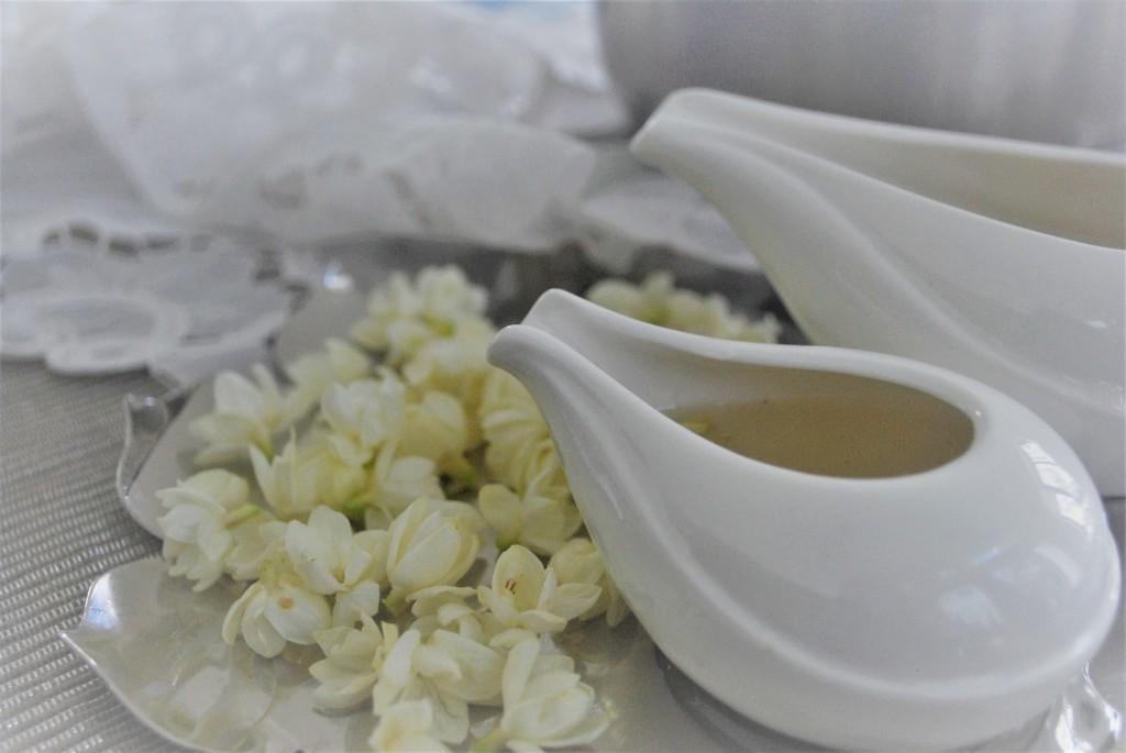 Jasmine flower syrup